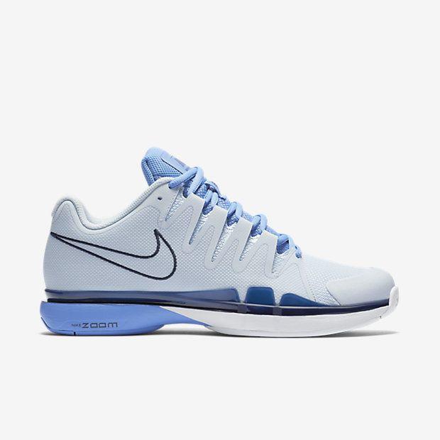 1cad806992a Nike Zoom Vapor 9.5 Tour Womens Tennis Shoes 8 Blue Tint Obsidian 631475  444  Nike  Tennis