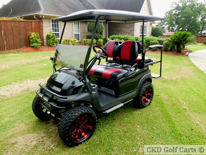 Custom Club Car Gas Golf Cart