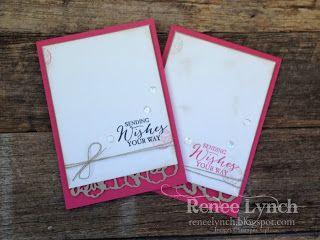 Renee Lynch INKspired Blog Hop 60, Stampin' Up! Birthday card, butterfly basics, birthday card