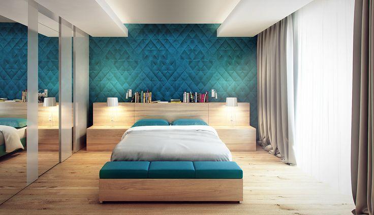 Sypialnia na 1 piętrze