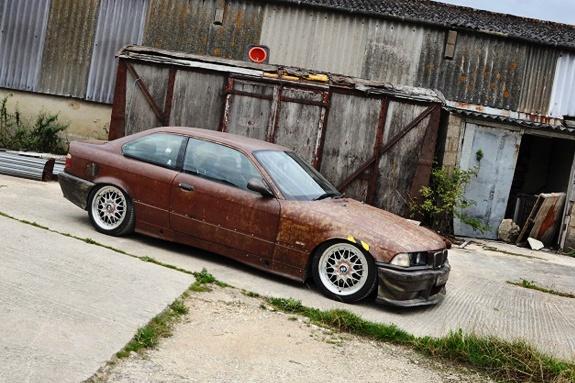 Rat look BMW