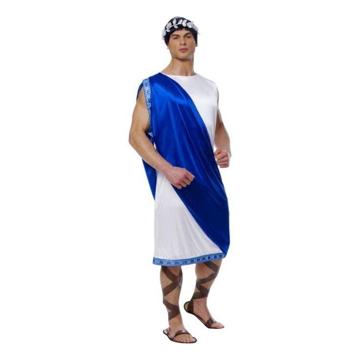 Grekisk Kejsare Maskeraddräkt