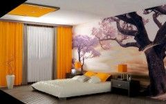 Latest Japanese Modern and Futuristic Master Bedroom Design Pictures, Wonderful Solutions for Small Spaces in Apartment