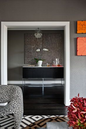 David Hicks | Banff Apartment. Artwork - Joseph Jurra Tjapaltjarri