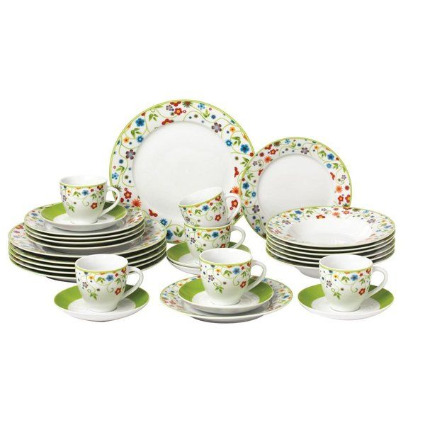 You'll love the Grenier 30 Piece Porcelain Dinnerware Set at Wayfair.co.uk - Great Deals on all Kitchenware & Tableware products with Free Shipping on most stuff, even the big stuff.