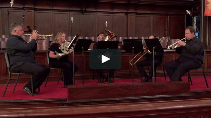 Nobody Knows the Trouble I've Seen • Black Oak Brass Quintet on Vimeo