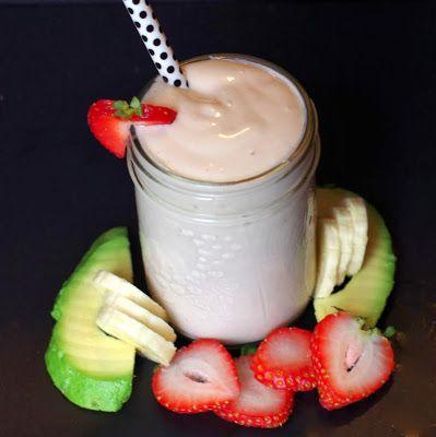 Avocado Strawberry Banana Smoothie - Delicious Amazing Health Recipes