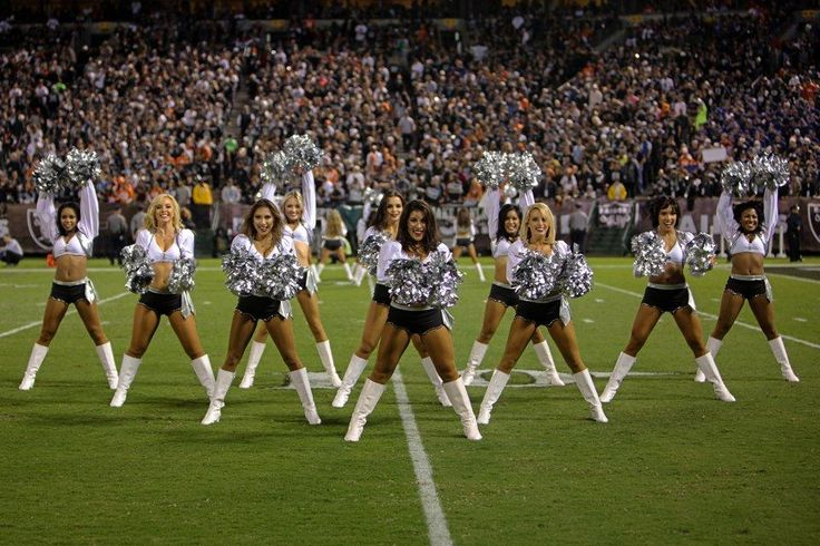 Sights Of The Game: Raiderettes vs. Denver