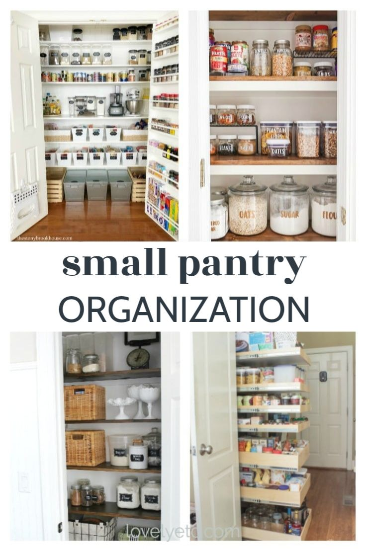 Pantry Makeover Small Pantry Ideas