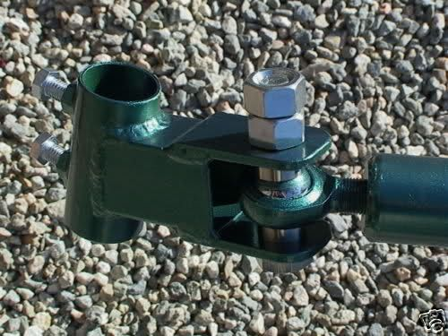 "Google ""pedicab trailer hitch"" and you will get thousands of results.  I discovered a variety of homemade designs.  The one I decided upon is pictured here. The key component of this design is the ""spherical"" joint.  The ball joint is essential for providing movement on X, Y, and Z axes.  Trust me on this, the hitch needs to allow the trailer to move left and right (X axis); up and down (Y axis); and to tilt when the tow bike leans in to a turn (Z axis)."