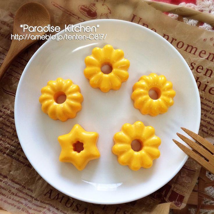 MAA's dish photo お弁当おかずに セリアのミニドーナツ型で 簡単 可愛い蒸し卵 http://snapdish.co #SnapDish #レシピ #お弁当 #キャラ弁 #簡単料理 #キャラクター #こどもの日グランプリ2015