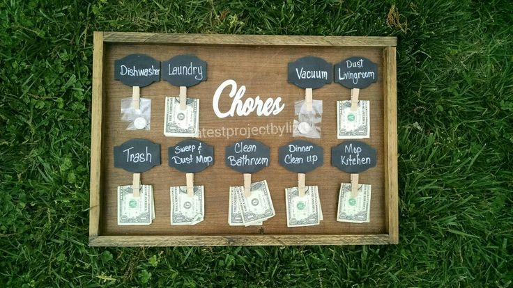 Chore Chart by Liz Crouch