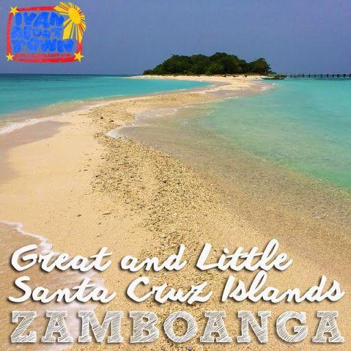 Santa Cruz Island, Zamboanga City's pink sand beach!