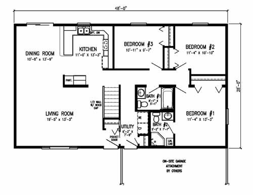 17 best images about houses on pinterest ranch home Pole barn house plans with basement