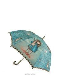 Long Lady Umbrella - Gorjuss Hush Little Bunny