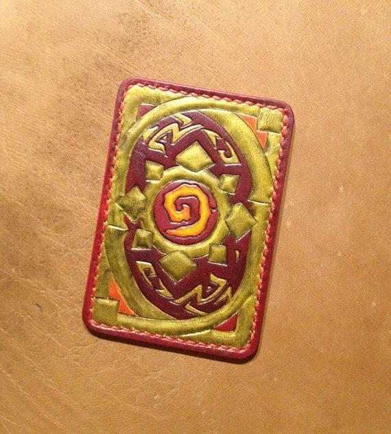 Hearthstone Heroes Of Warcraft Geek Handbuilt Vegtan от WildOx