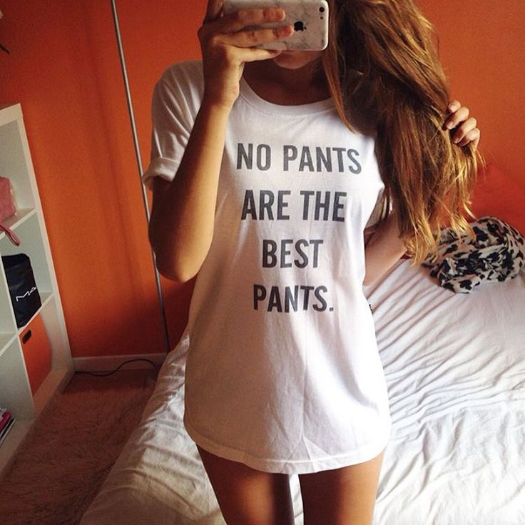 No Pants Are The Best Pants T Shirt Tank Top Teen
