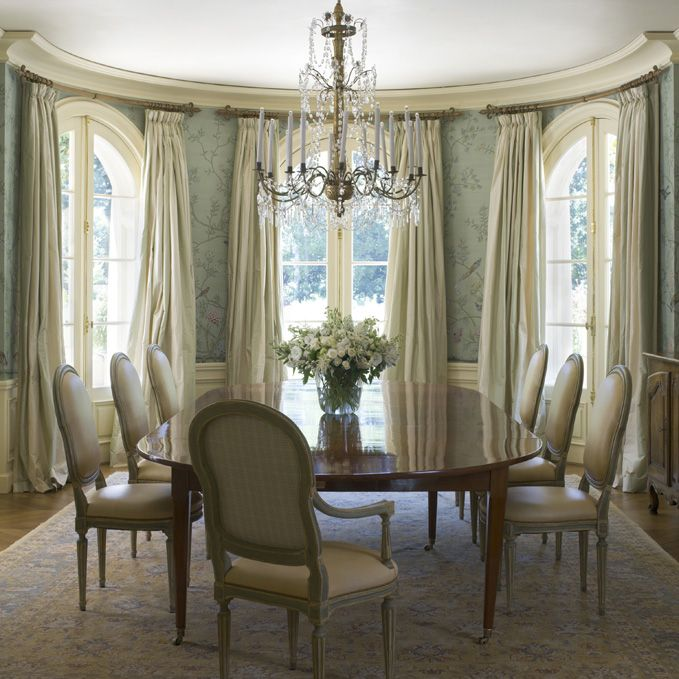 Inspirational Elegant Window Treatments for Dining Room