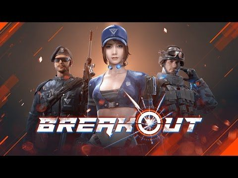 Garena Breakout: Mobile FPS android game first look gameplay español