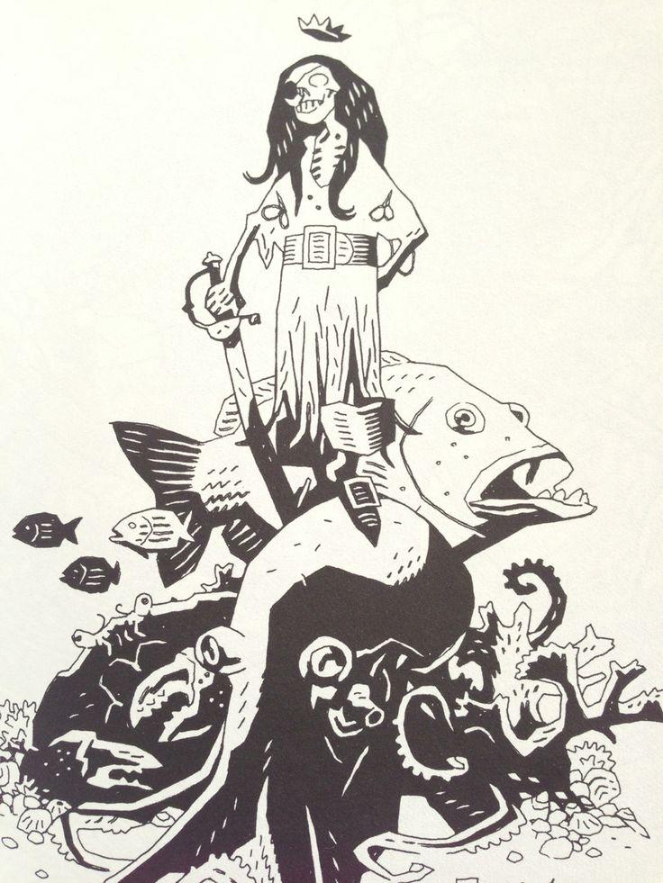 Mike Mignola, Cursed Pirate Girl