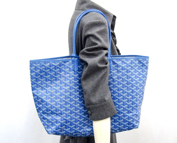 GOYARD. Paris. ONLINE SPECIAL Saint Louis PM Tote Bag Canvas/Leather