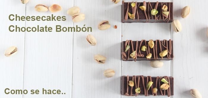 Cheesecakes Chocolate Bombón ( Por tú te mereces un bombón!!!!!! ) - Tvcocina . Videos . Recetas de Cocina . Vinos y Restaurantes