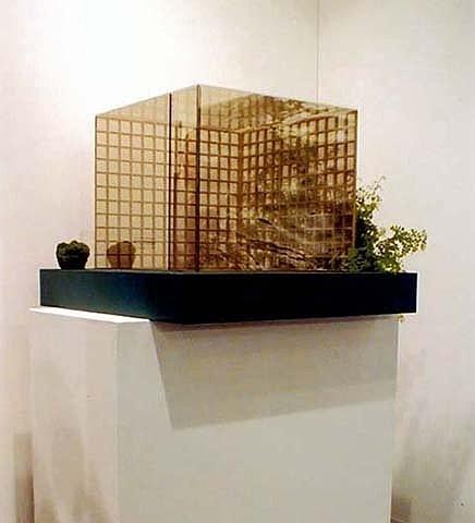 Dan Graham- Pavilion (model sculpture)