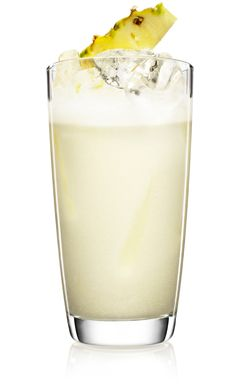 *MALIBU  PINA COLADA *   - 2 parts (100 ml) MALIBU - 1 part (50 ml) coconut cream - 1 part (50 ml) pineapple juice - Fresh pineapple wedges  - Fill a shaker with ice cubes. Add MALIBU and coconut cream. Shake and strain into a highball glass filled with crushed ice. Top off with pineapple juice. Garnish with fresh pineapple.