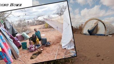 Dočasný život v utečeneckom tábore v Dadaabe sa mení na trvalý.  Situácia v najväčšom utečeneckom tábore v Dadaabe nie je priaznivá ani po vyše roku od vypuknutia hladomoru.