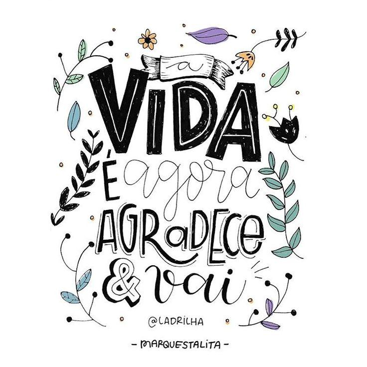 Agradece e vai, ✨ // artezinha finalizada da frase da lindoca da @ladrilha . #marquestalita (at Rio de Janeiro, Brazil)