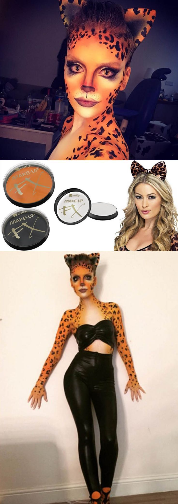 If you're as obsessed with fancy dress as we, get inspired by Perrie Edwards's recent cheetah-inspired makeup and get set to copycat her killer look. We asked the party experts at Smiffys to share their top tips for DIY face painting so you'll look scary for all the right reasons.