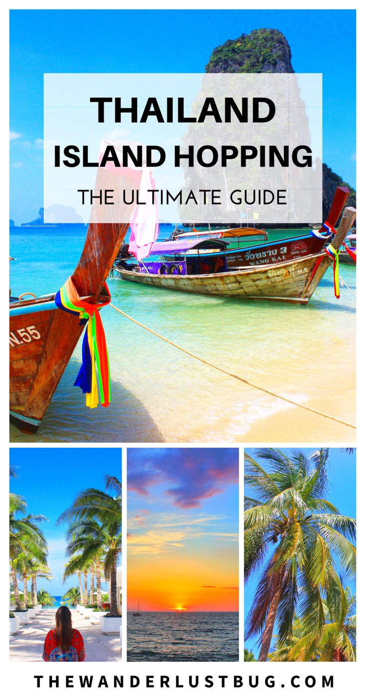 A complete guide to Thailand island Hopping, helping you to decide which gorgeous island to head to next, how to get there and what do (whether it's chic beach bars, unique activities or relaxing on the most beautiful beaches). Featuring Koh Phi Phi, Koh Lanta, Koh Phangan, Koh Yao Noi, Koh Yao Yai, Koh Racha, Koh Samui, Koh Tao, Krabi & Phuket.