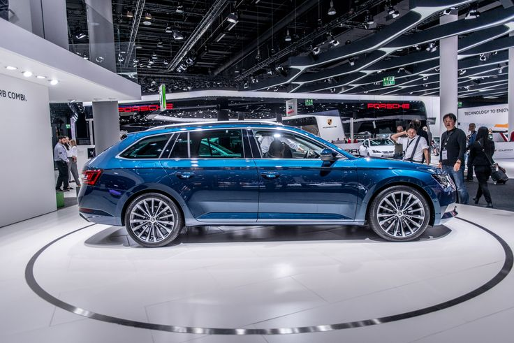 Looking good. With its new design, the new ŠKODA Superb demonstrates the brand's emotional strength, bringing the exciting design language of the 'ŠKODA VisionC' show car into production #SKODAIAA #NEWSUPERB #SUPERB