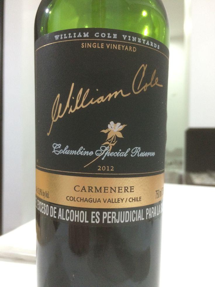 Buen Vino Chileno Carmenere Reserva Especial Colchagua Valley