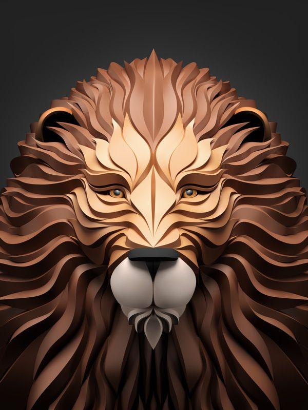 Predators: 3D Illustrations by Maxim Shkret   Inspiration Grid   Design Inspiration