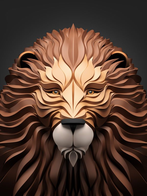 Predators: 3D Illustrations by Maxim Shkret | Inspiration Grid | Design Inspiration