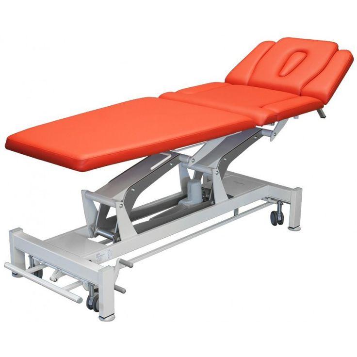 M-P7.F0 Terapeuta - Stół do masażu i rehabilitacji - siedmiosekcyjny z Pivotem