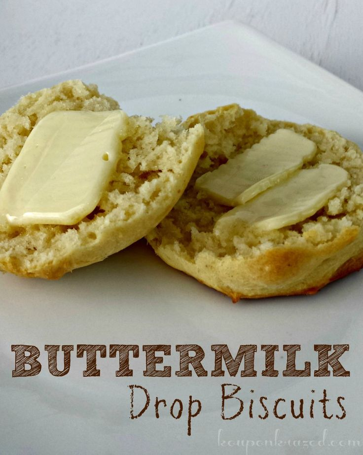 Buttermilk Drop Biscuits Recipe Homemade biscuits don't have to be ...