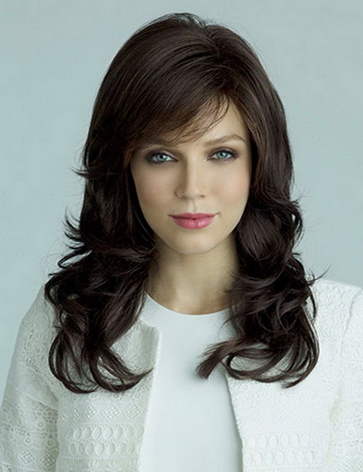 Hot Sale Synthetic Celebrity Brown Black Hair Long Wavy Afro American Wigs For Women SW0044 -- Click the image to visit the website