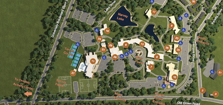 Ut Tyler Campus Map Ut Tyler Map | compressportnederland Ut Tyler Campus Map
