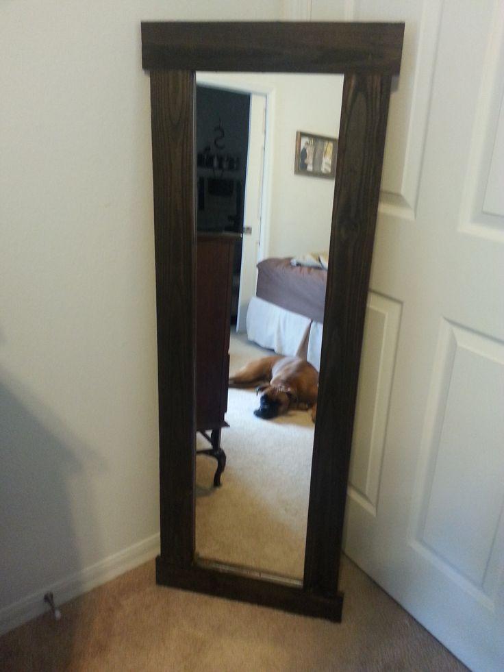 Rustic Full Length Mirror The Diy 5 Walmart Mirror