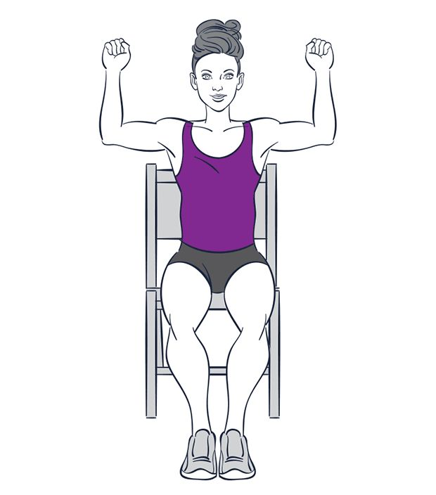8 best chair exercise images on pinterest   chair exercises, chair