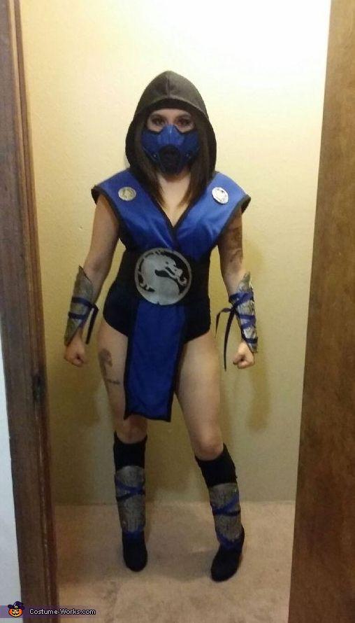 mortal kombat sub zero costume - Mortal Kombat Smoke Halloween Costume