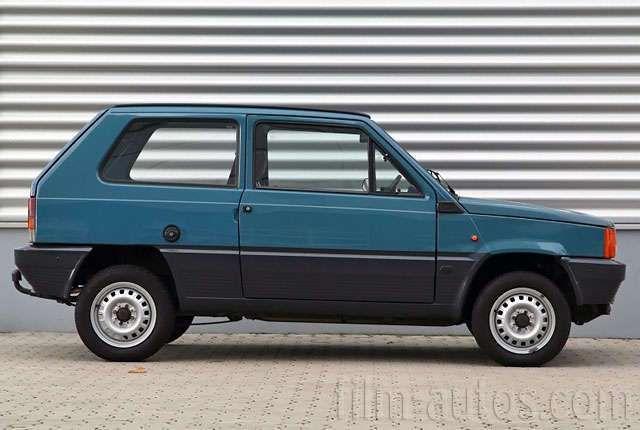 Oldtimer Fiat Panda zum Mieten