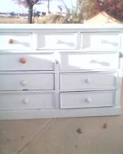Dresser for sale: Dresser for sale, good condition, $20 obo, 66 inches long