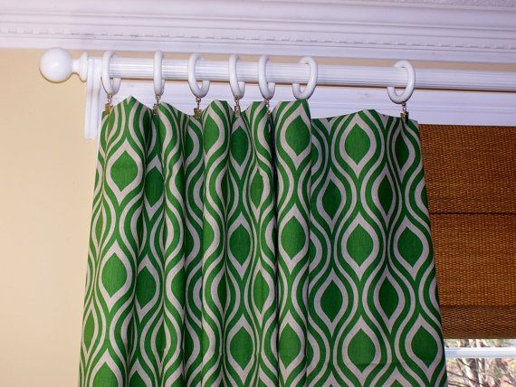 New Modern Nicole Laken CURTAINS Premier by Cathyscustompillows, $109.00