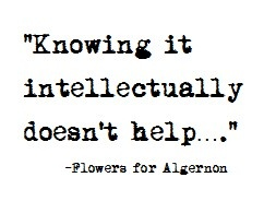 Flowers For Algernon This Is My Life In One Sentence