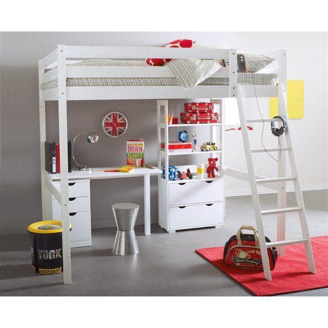 les 25 meilleures id es concernant lit mezzanine 140 sur. Black Bedroom Furniture Sets. Home Design Ideas