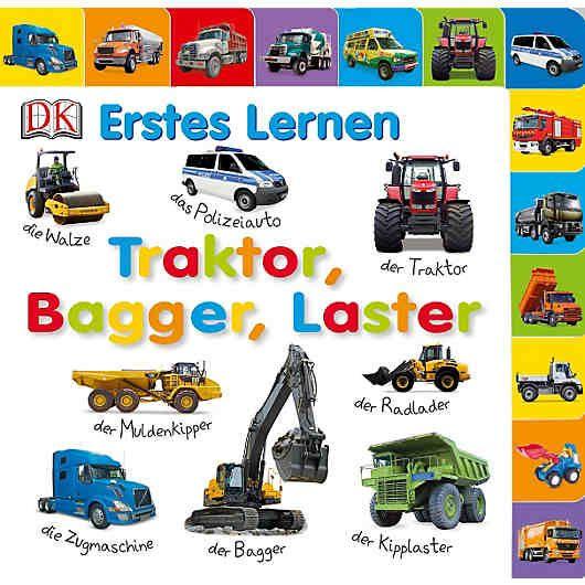 Trend Tanklaster Raupenbagger Gabelstapler L schfahrzeug und Muldenkipper Gro e Fahrzeuge sind spannend Mit