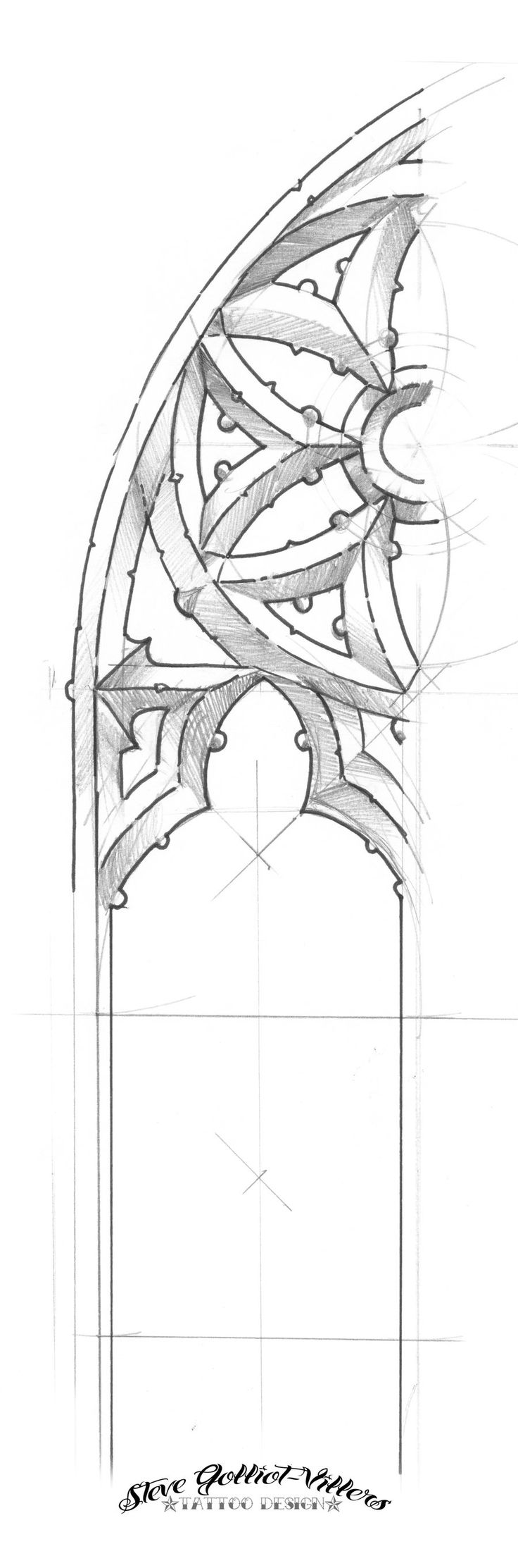 gothic architecture drawing - Google Search